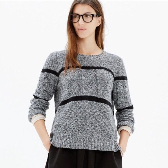 Madewell Patternstorm Pullover Knit Sweater